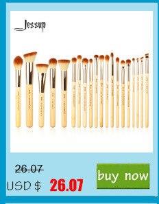 Jessup 15 pçs pincéis de maquiagem conjunto