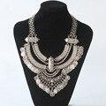 2017 новый мода чешского мощность ожерелье воротник choker ожерелье винтаж цыганский этническая себе ожерелье женщины Макси изящных Ювелирных Изделий