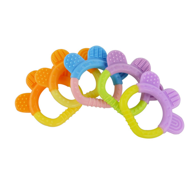 Baby Dental Care – Teether designed to Strengthen Baby's Gums N Jaws