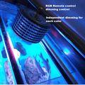 RGB عن بعد يعتم 50W كري الصمام تنمو ضوء للنباتات الزراعة المائية حوض السمك البحرية مصباح للشعاب المرجانية الأسماك