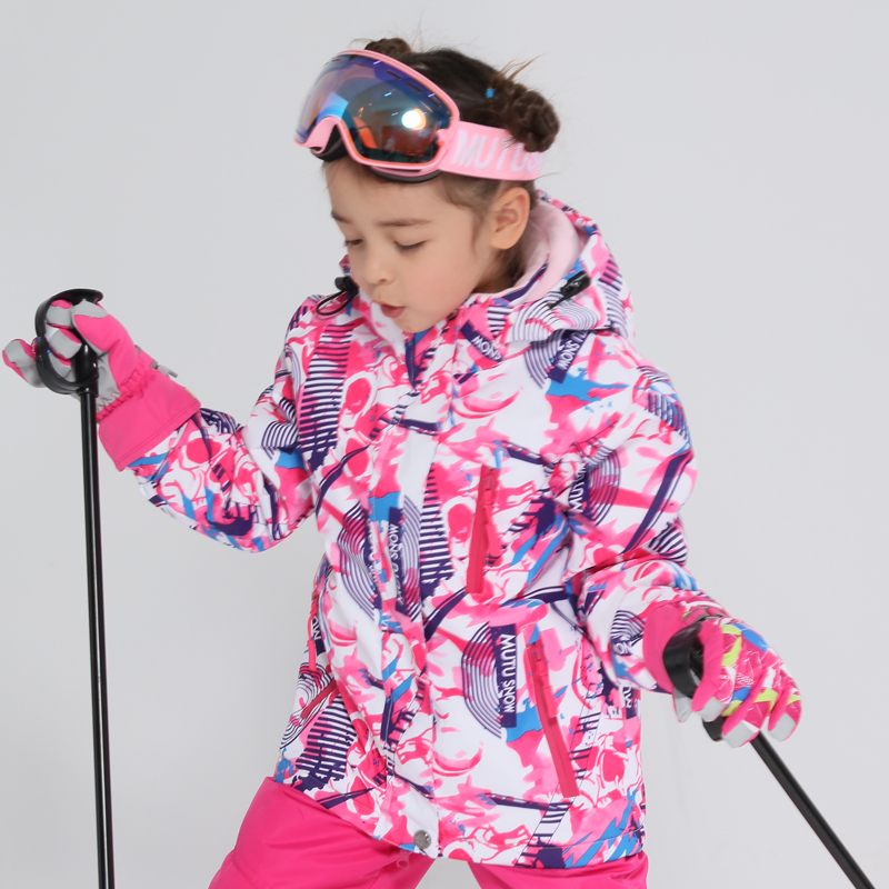 Kids Ski Jacket Winter Children Thicken Windproof Waterproof Super Warm Ski Clothes Girls Snow Coat -30 Winter Snowboard Jacket Kids Ski Jacket Winter Children Thicken Windproof Waterproof Super Warm Ski Clothes Girls Snow Coat -30 Winter Snowboard Jacket