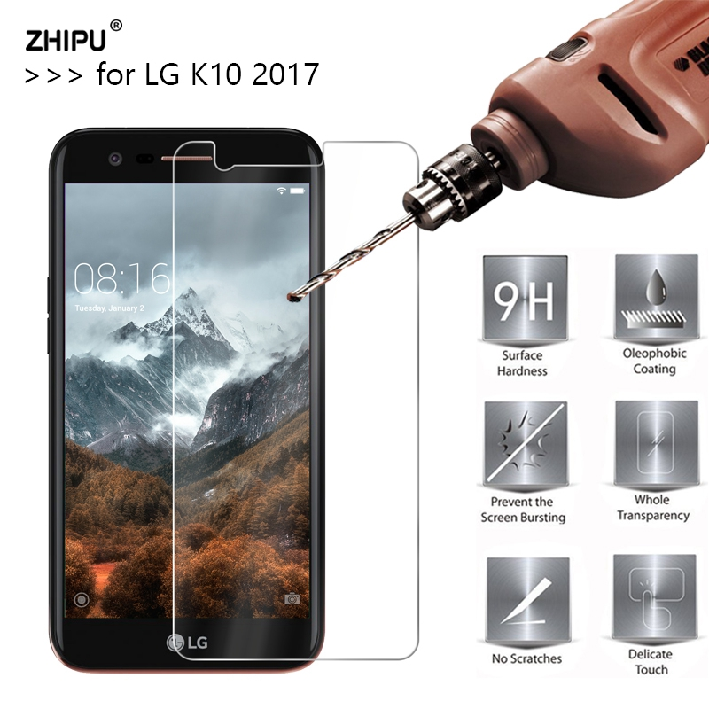 2.5D 0.26Mm 9H Premium Tempered Glass For Lg Ok10 2017 Model Display screen Protector Toughened Protecting Movie For Lg Ok10 2017 Glass