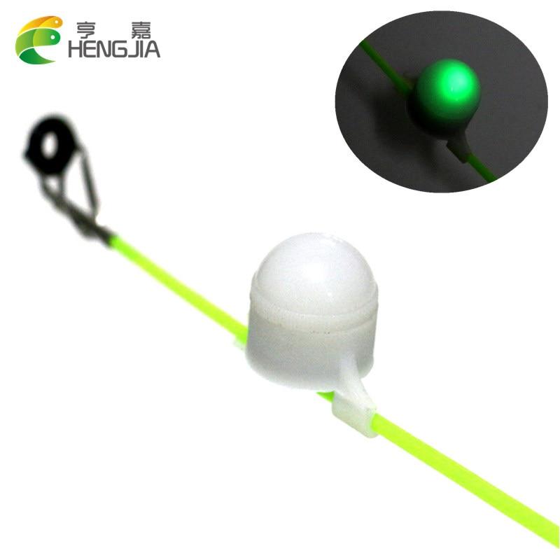 3ks 4,5 g Plastové mini LED kontrolky LED Rybářský prut Tip klip na ryby Strike Bite Alert Noční rybářské plováky Electric Fish Bobber
