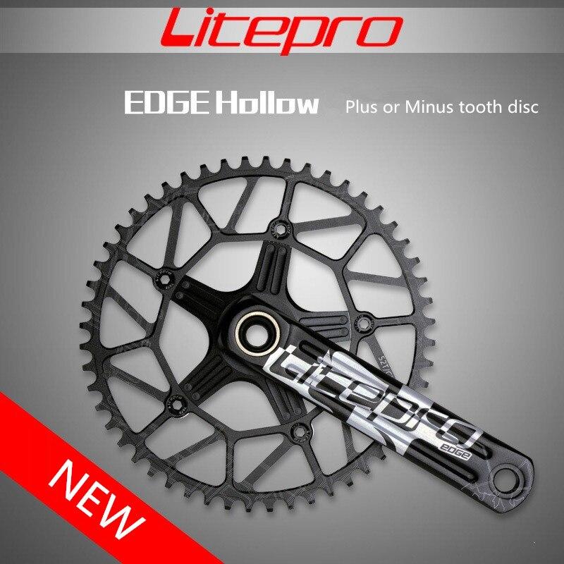 50 T 52 T 54 T 56 T 58 T Litepro route vélo chaîne roue manivelle vélo pliant manivelle positif négatif dent disque cyclisme accessoire
