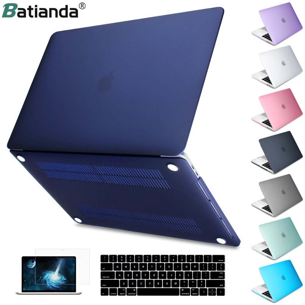reputable site db35c 71869 US $18.99 |Aliexpress.com : Buy For MacBook Pro Air Retina 11 12 13 15  Crystal & Matte Laptop Case For 2018 Macbook Pro 13 15 Touch Bar A1989  A1708 ...