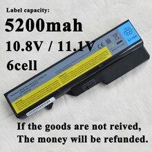 5200 мАч ноутбук аккумулятор для Lenovo IdeaPad B470 V470 B570 G780 V300 Z470 Z570 K47 G460A G560 Z565 B457 G780 Z575 Z475 B475