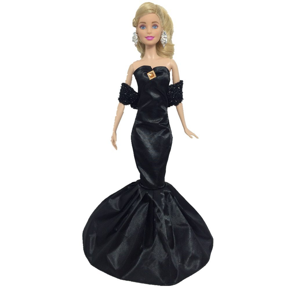 EVENING DRESS OUTFIT GOWN FOR FASHION DOLL 1//6 ROYALTY DOLL GARMENT