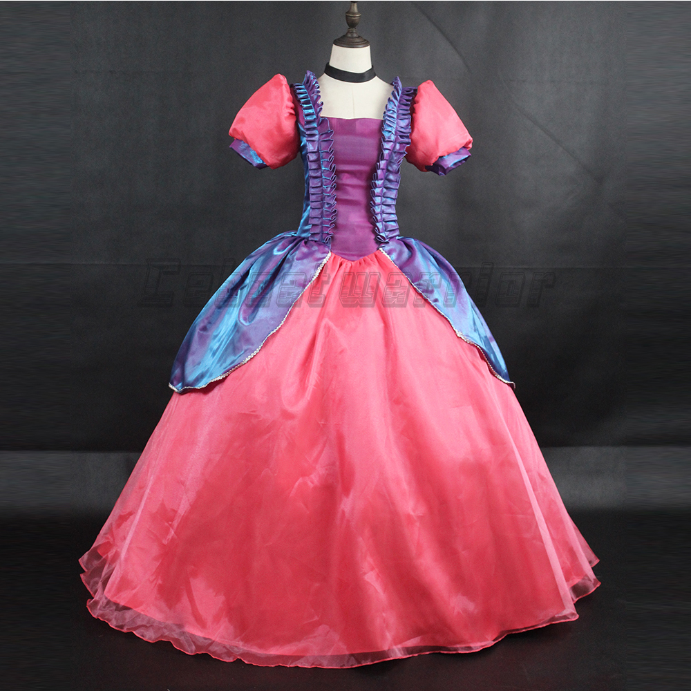 Princess Cinderella Wedding Dress Costume For: Movie Cinderella Sister Cosplay Costume Princess Wedding
