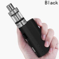 50w Vape Box Mod Kit 2200mAh Battery Electronic Cigarette 3ml 0 5ohm Atomizer Lite 80 Adjustable