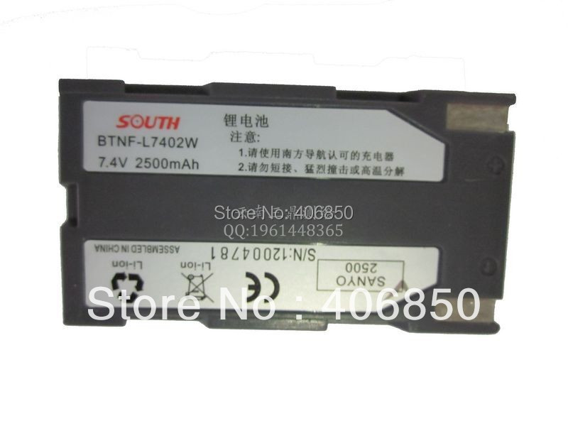 s82  S82T  9600  battery GPS the host battery is 2500mAh look for the standard size of the South RTK Ling Rui
