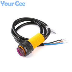 Image 1 - Sensor fotoeléctrico infrarrojo para evitar obstáculos, interruptor de proximidad de 3 80cm, rango de detección ajustable, 10 uds.