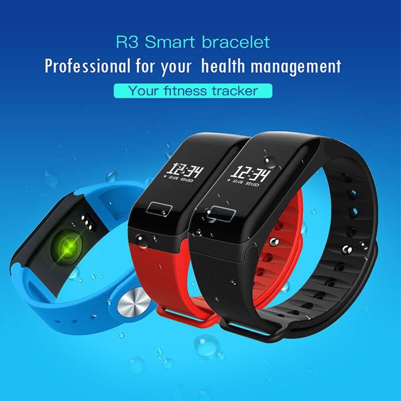 L8star оригинальный сердечного ритма Фитнес трекер Смарт Браслет часы сна Мониторы <font><b>Bluetooth</b></font> наручные часы IP65 Водонепроницаемый R3