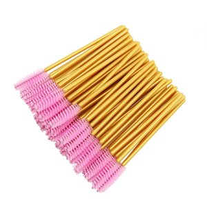 Image 1 - 1000pcs חד פעמי מסקרה שרביטים מוליך בתפזורת ריס הארכת מברשת גבות מברשות כלים עבור אביזרי נשים
