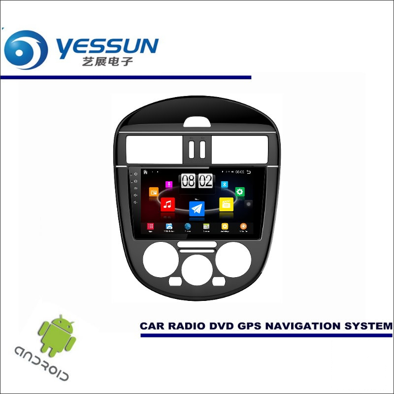 YESSUN Car Android Player Multimedia For Nissan Tiida 2011~2015 Radio Stereo GPS Nav Navi Navigation ( no CD DVD ) 9 HD Screen