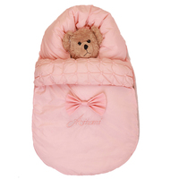 Baby Sleeping Bag Baby Stroller Sleeping Bag Winter Warm Envelope For Newborn Thicken Warmly sack Cotton kids sleepsack