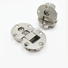 Free Shipping 10PCS Cabinet Door Flap Hidden Hinges Micircle Concealed Detachable Hinges Furniture Hardware