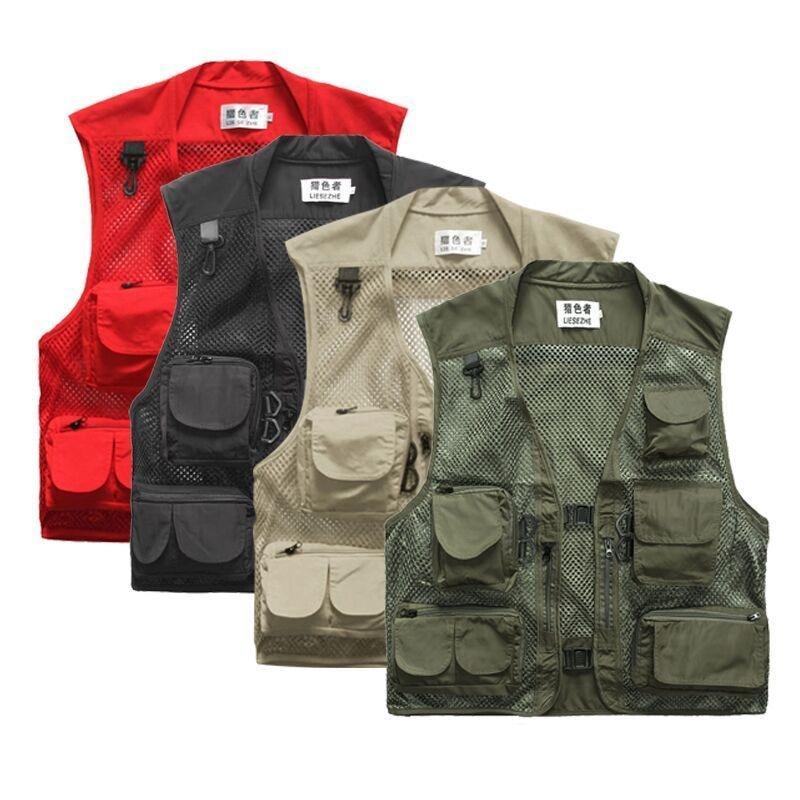 Aliexpress.com : Buy Men's Multi Pocket Fishing vest Quick ...