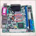 Бесплатная доставка PMI8M материнская плата Celeron 1 Г DDR двойной сетевой карты двойной LVDS 17*17 ITX промышленного POS машины