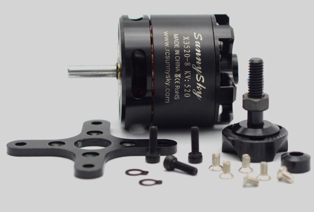 Sunnysky X3520 KV520 KV720 KV880 6 S moteur sans balai pour drones RC modèles FPV quadrirotor - 2