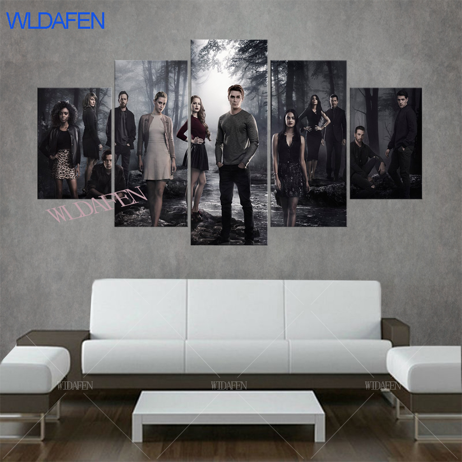 canvas poster riverdale canvas painting face painting camera instant ...