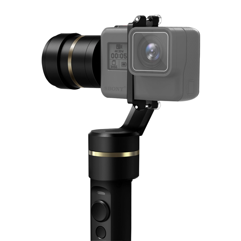 FeiyuTech FY-G5 3-Axis Water Splash-Proof Handheld Gimbal for GoPro Hero 5/4/3+ feiyutech fy g5 3 axis water splash proof handheld gimbal for gopro hero 5 4 3