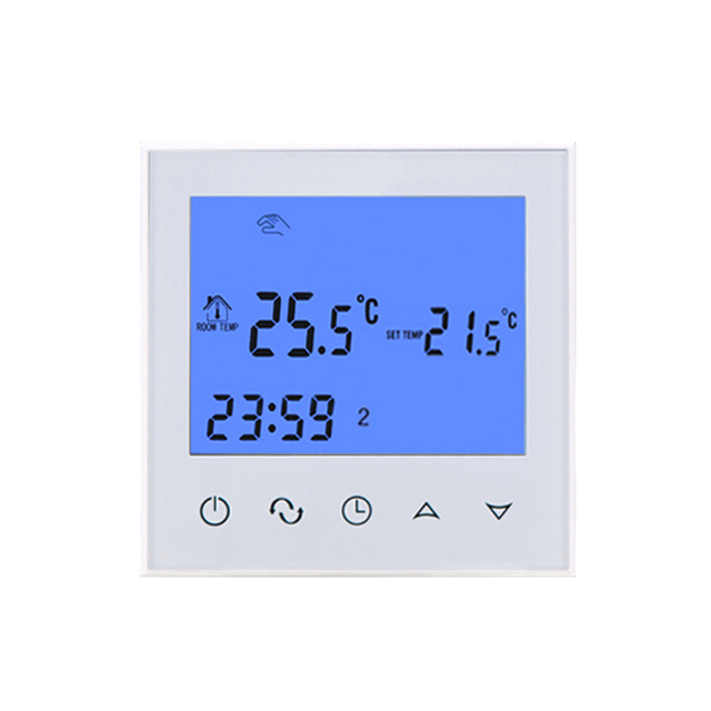 R2 Digital Thermostatic Electric Heating Element Timer For: HY03WE 2 Touch Screen Digital Room Programmable Thermostat
