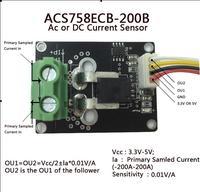 ACS758ECB 200B AC And DC Current Sensor Module