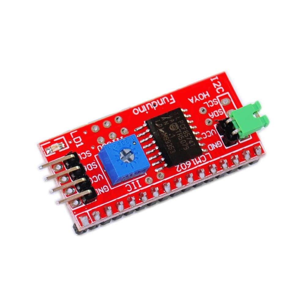 Livraison gratuite! Nouveau Port de Module de carte d'interface série IIC/I2C/TWI pour LCD Arduino 1602 2004