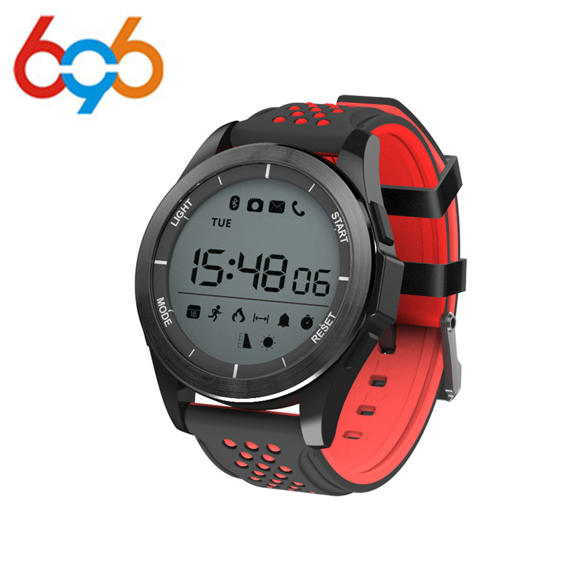 696 <font><b>NO.1</b></font> <font><b>F3</b></font> Smart Watch Bracelet IP68 Waterproof Hiking Sports Smartwatch Fitness Tracker Wearable Devices For Android iOS image