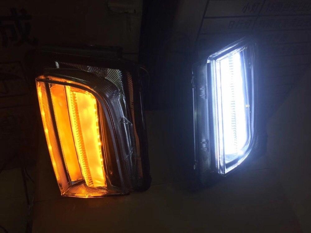 Светодиодные дневные ходовые огни Osmrk для Cadillac, высокое качество, с поворотом, беспроводное управление переключателем, водонепроницаемый, 2