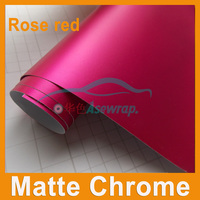 Satin Metallic Matt Chrome Green Vinyl For Car Wrapping Film Wrap Foil Auto Stickers with Air Drain Size 1.52x20m/Roll