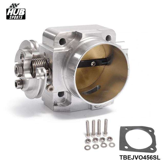 US $45 55 5% OFF For Mitsubishi Lancer Evo 4 5 6 4g63t Upgrade 70mm Intake  Manifold Throttle Body Plate Assembly HU TBEJVO456SL-in Throttle Body from