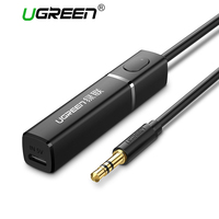 Ugreen Bluetooth 4 2 TV Transmitter 3 5MM Jack Audio Adapter Connected To TV Paired With