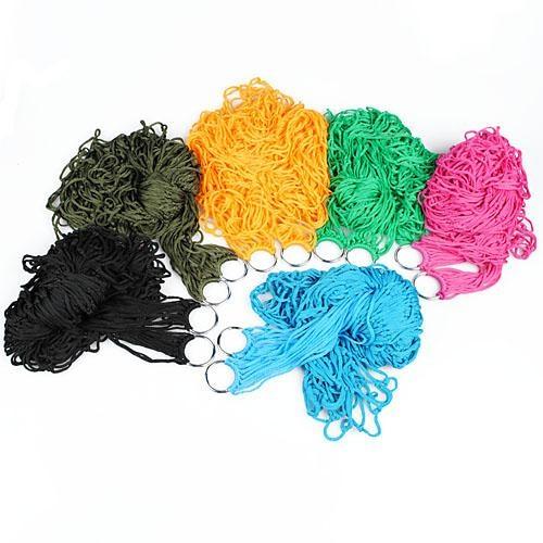 New Hotsale Best Price In Aliexpress promotion Nylon Hang Rope Hammock Mesh Net Sleeping Bed Travel