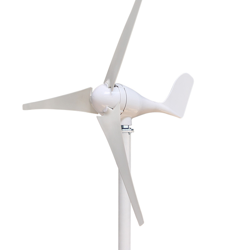 купить S Model Wind Generator 450W 3 Blades or 5 Blades Wind Power Turbine with Waterproof Controller 12V 24V по цене 16404.4 рублей