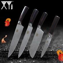 XYj Neue Jahr Edelstahl Kochen Messer 4 Stücke In Einem Set Kitchen Tools Antihaft-messer Set Edelstahl Küchenmesser Set