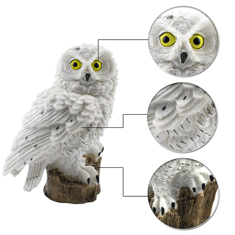 Owl Solar Light LED Garden Lights Ornament Lamp Solar Powered Panel Led Path Lawn Lamps Outdoor Waterproof Night Light Dropship in Solar Lamps from Lights Lighting