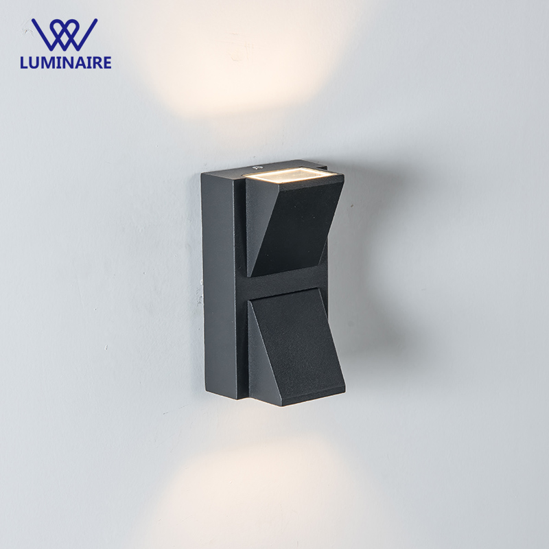 VW Outdoor 10W LED Wall Lamps AC85-265V Aluminum Courtyard Garden Porch Corridor Lights retro wall light modern lighting fixture teak house зеркало напольное ferum