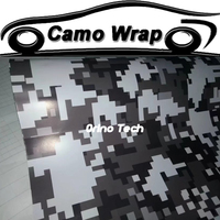 Digital Black White Vinyl Film ORINO Car Wrap With Air Bubble Free Car Motorcycle Body Decal Graphics Adhesive Car Sticker