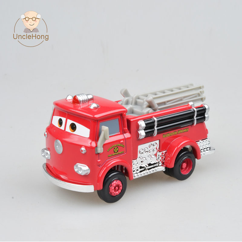 Unclehong Pixar Animated Film Cars Fire Engine Red Modle Vehicle Metal And Plastic Car Children Toys No Box Car Children Cars Toy Boxcar Toys Children Aliexpress