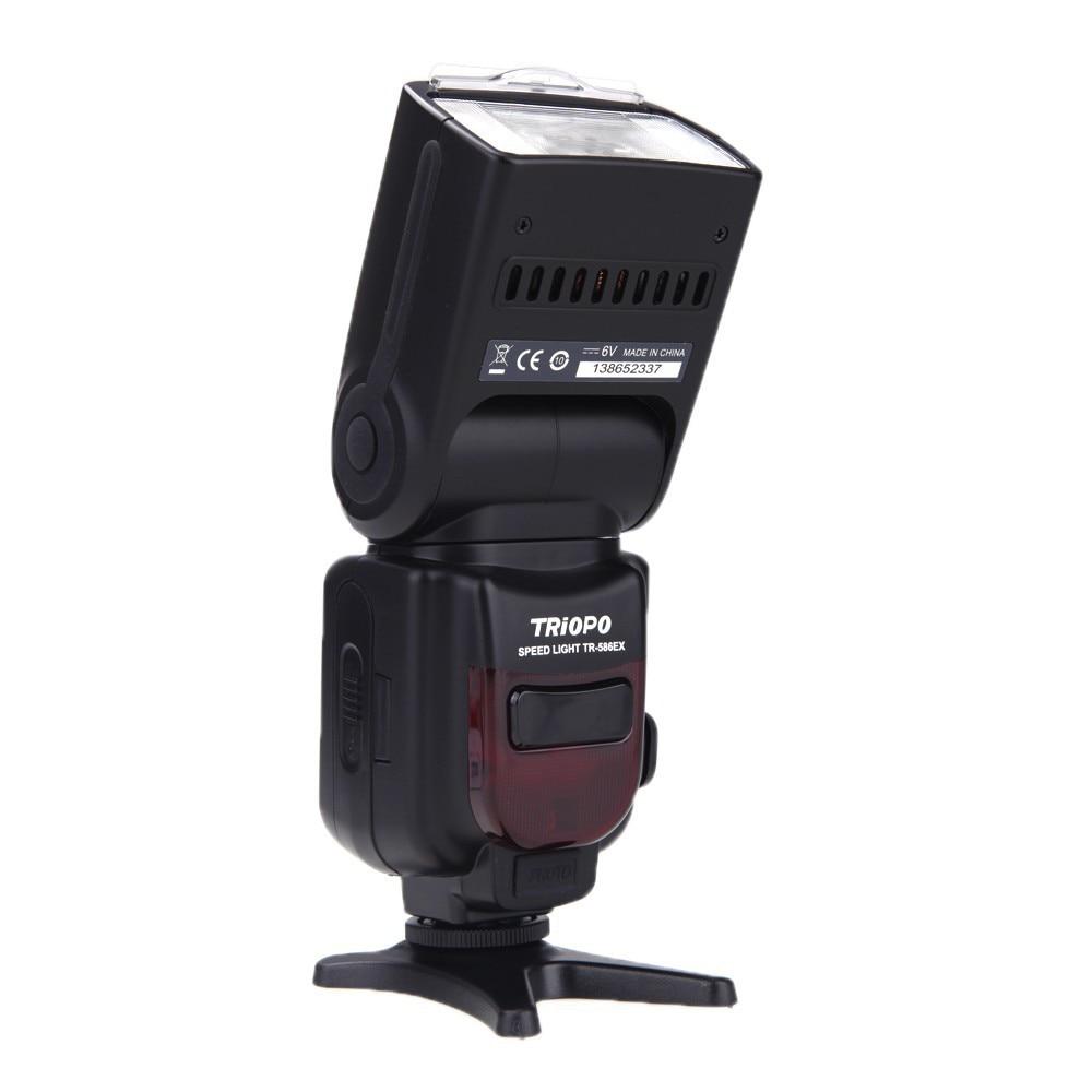Triopo TR-586EX Wireless Flash Photo TTL Speedlite Speedlight For Nikon D750 D800 D3200 D7100 DSLR Camera Flashlight цена
