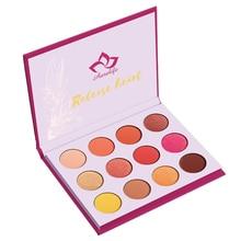 Aurelife 12 color Pressed Powder Eye Shadow Palette  Matte & Shimmer Maquiagem Glitter makeup palette eyeshadow pallete цена и фото