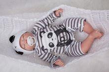 20 Inch 50cm Soft Silicone Handmade Reborn Baby Girl Dolls Realistic Looking Newborn Baby Doll Toddler Cute Birthday Gift