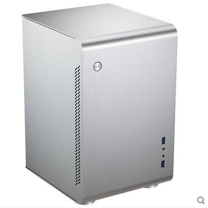 JONSBO U2 Chassis ITX Chassis All aluminum silver chassis supports standard power supplies корпус для пк jonsbo u1 u2 u3 umx1 umx2 itx usb3 0