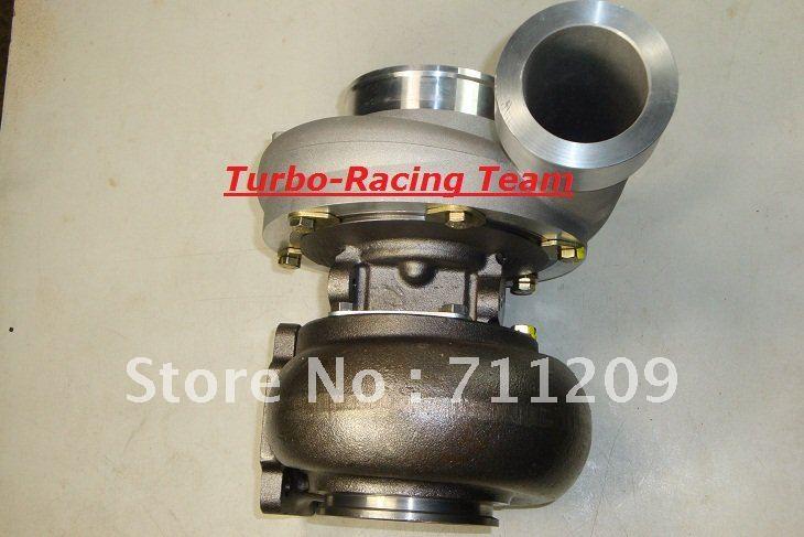 Огромный GT45 T4 T4/T66 1,00 AR отделка 600HP турбокомпрессор
