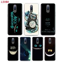 LSVAB Silicone Case Alice in wonderland Cat for