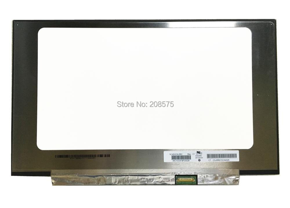 Free shipping N140HCA-EBC N140HCA EBC Laptop LCD screen 1920*1080 EDP 30pins free shipping new original 13 3 laptop lcd led screen lq133m1jw01 1920 1080 30pins notebook display