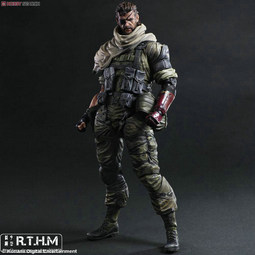 METAL GEAR SOLID V THE PHANTOM PAIN PLAY ARTS Kai Venom Snake  Action Figure 25cm play arts kai metal gear solid 5 the phantom pain quiet venom snake pa pvc action figure doll toys kids gift brinquedos