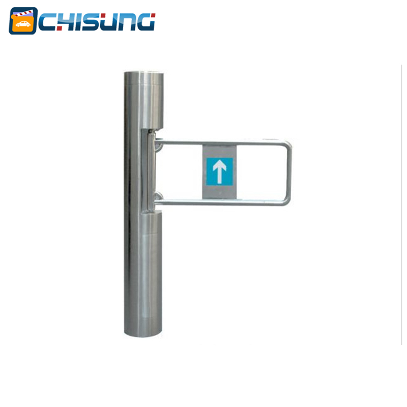 bi-directional motorised access gate swing gate turnstile barrier for pedestrian access control/wing gate