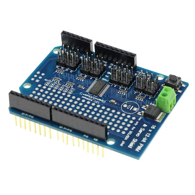 PCA9685 16 Channel 12-bit PWM and Servo Motor Driver I2C Interface Shield